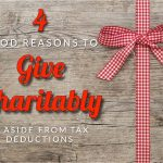 Boldon's Four Good Reasons To Give Charitably, Aside From Tax Deductions