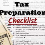 RKB Accounting & Tax Service, LLC's 2017 Tax Preparation Checklist