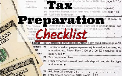 RKB Accounting & Tax Service, LLC's 2017 Tax Preparation Checklist